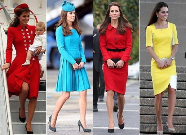 Kate Middleton é eleita celebridade britânica mais bem-vestida, diz site