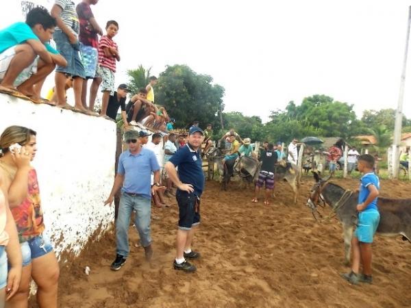 Maratonas e corridas de jumentos abriram  a programação do dia 28 em Canavieira - Imagem 1