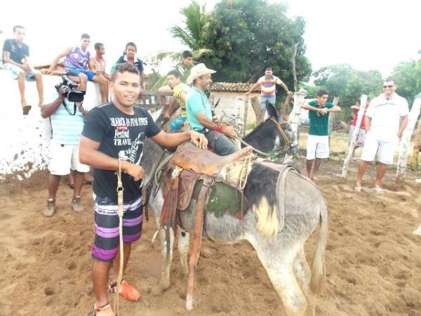 Maratonas e corridas de jumentos abriram  a programação do dia 28 em Canavieira - Imagem 2