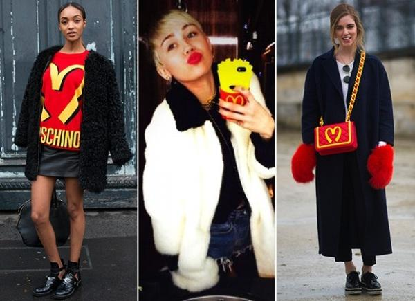 Looks com estampa inspirada em rede de fast food viram hit entre famosas