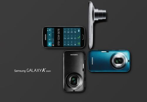 Samsung anuncia Galaxy K Zoom, smart com super câmera de 20.7 MP