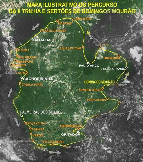 II TRILHA SERRA E SERTÕES será próximo domingo. - Imagem 2