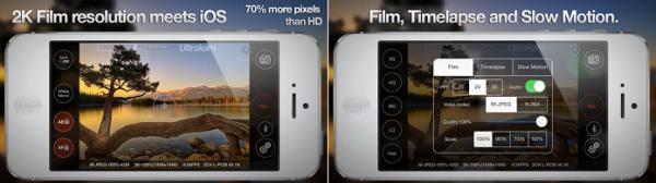App Ultrakam usa 蘇ack para aumentar resolu鈬o da c穃era do iPhone