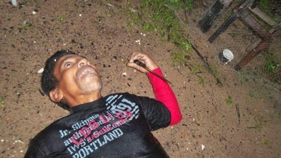 Policia prende em flagrante mulher que matou pescador com uma facada no peito