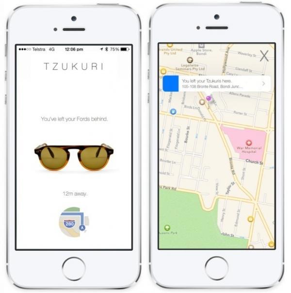 Óculos com tecnologia iBeacon poderão ser rastreados com app de iPhone