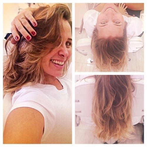 Andreia Sorvetão muda o visual: