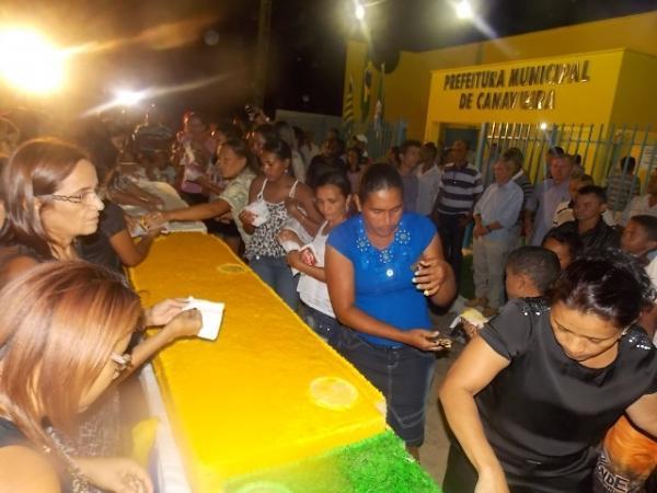 Canavieira comemora 22 anos com inaugurações, corte de bolo e muita festa.  - Imagem 5