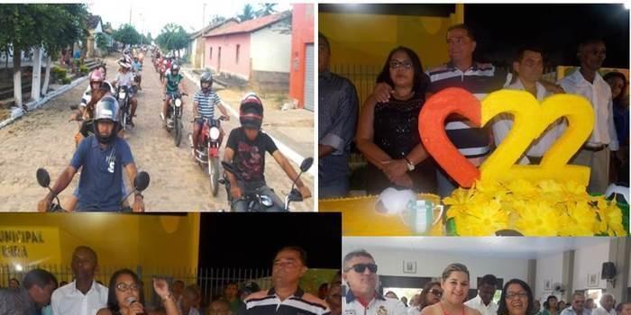 Canavieira comemora 22 anos com inaugurações, corte de bolo e muita festa.