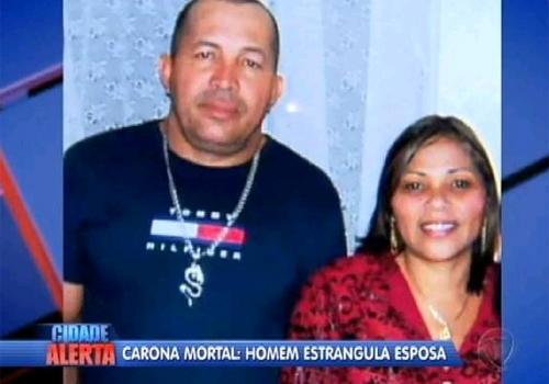 Carona da morte: polícia procura homem suspeito de matar ex-mulher após buscá-la no trabalho