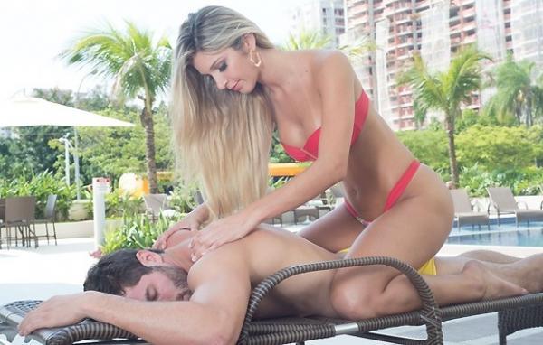 Tatiele Polyana e Roni esquentam o clima de romance pós-Big Brother Brasil em ensaio sensual