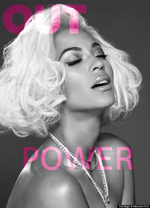 Beyoncé posa com peruca platinada para revista e comenta liberação sexual