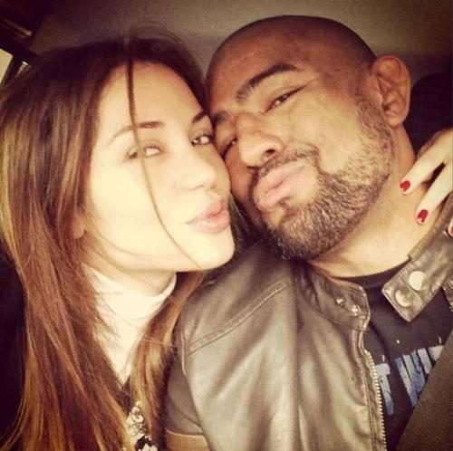 Voltaram? Maria Melilo posta foto com ex-noivo em clima de romance