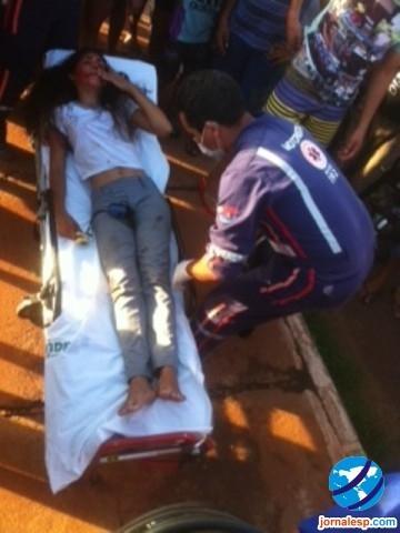 Estudante sofre acidente grave ao cair de altura de 8m