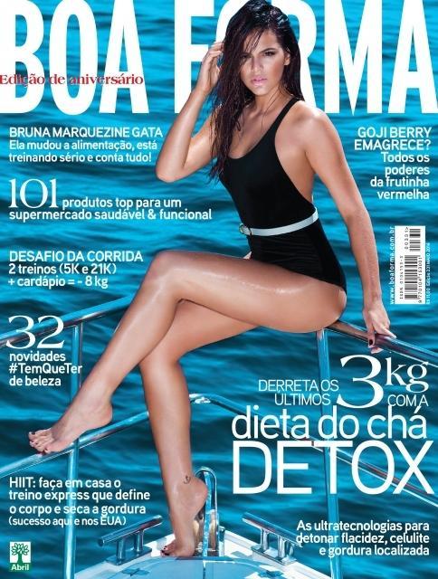 Sedutora em novela, Bruna Marquezine posa poderosa para edição de aniversário de revista