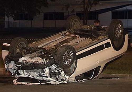 Motorista embriagado atinge carro e mata mãe e filha de 1 ano no Distrito Federal; homem é preso