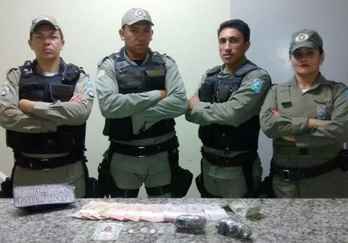 PM de Gervásio Oliveira prende mulher que comercializava Cocaína nos festejos