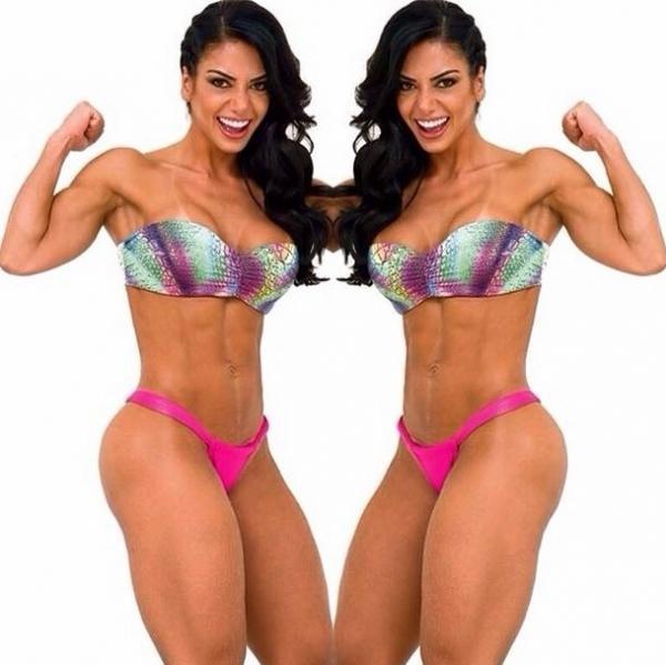 Graciella Carvalho exibe corpo sarado:
