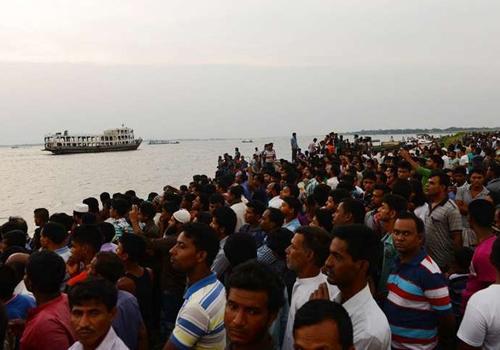 Barco afunda em Bangladesh e deixa vários mortos