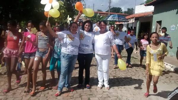 O povo de Miguel Leão vai às ruas protestar contra a violência sexual