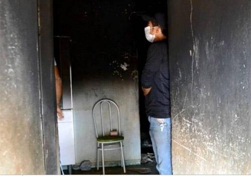 Mãe grávida, pai e duas filhas morrem enquanto dormiam e vela pode ser a causa do fogo em MG