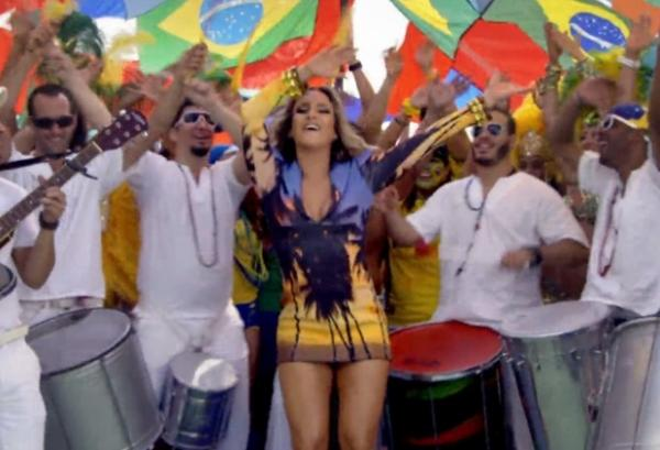 We Are One: Pitbull, Jennifer Lopez e Cl疼dia Leitte celebram a Copa do Mundo