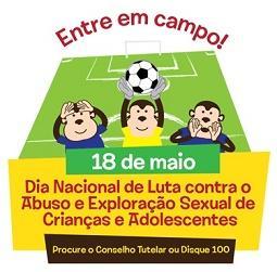 18 de maio: CMDCA de Caxingó divulga programação de campanha contra o Abuso e Exploração de Crianças e Adolescentes
