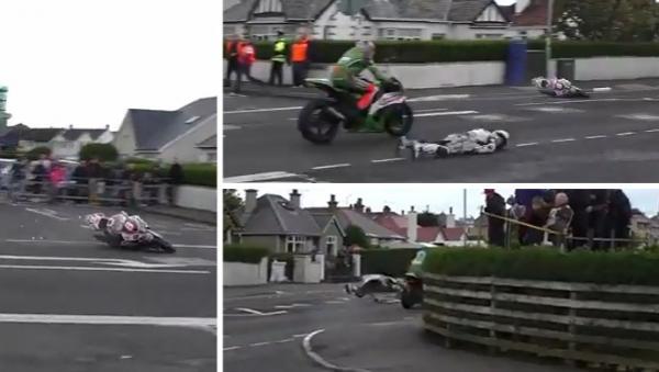 Piloto inglês sofre acidente grave em prova na Irlanda do Norte; assista