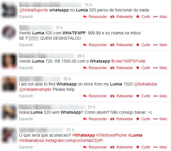 WhatsApp é retirado da loja do Windows Phone e deixa usuários apreensivos
