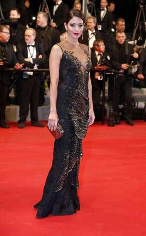 Adriane Galisteu e Paloma Bernardi se divertem em Cannes
