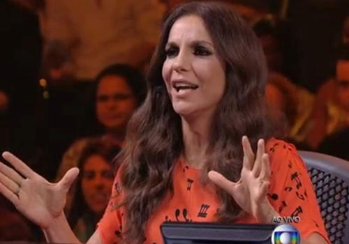 Ivete Sangalo usa vestido de R$ 3500 no programa