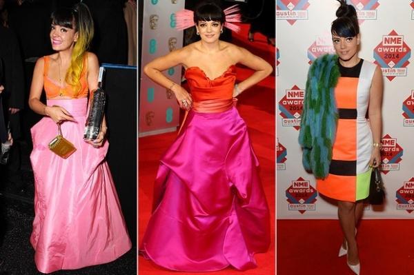 Confira os looks extravagantes de Lily Allen, que completa 29 anos