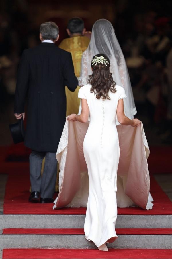Homem diz que Pippa Middleton usou