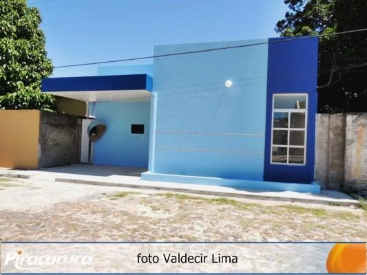 Prefeitura de Piracuruca finaliza obra do Posto de Saúde da Familia no Bairro Esplanada