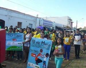 Prefeitura de Caracol realiza campanha para combater o abuso sexual de crianças e adolescentes - Imagem 1
