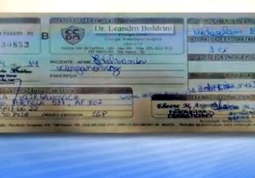 Perícia analisa assinatura de pai de Bernardo em receita usada em crime