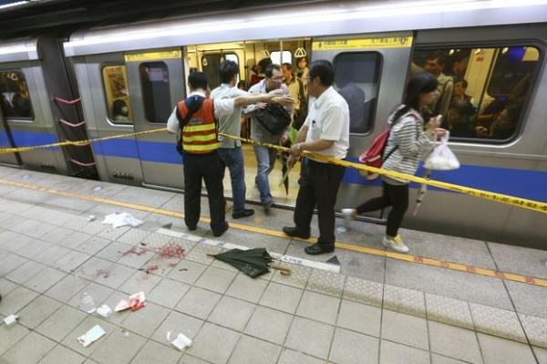 Ataque com faca no metrô de Taiwan deixa três mortos e mais de 20 feridos