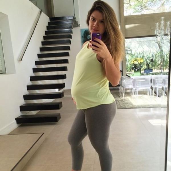 Rumo à malhação, Mirella Santos exibe o barrigão após aniversário: