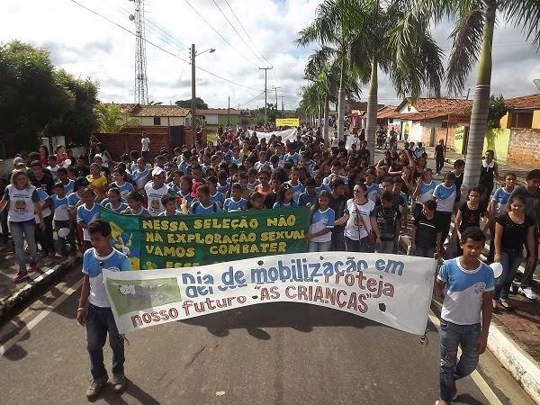 Caminhada e Gincana contra o Abuso e Exploração Sexual contra Crianças a Adolescentes movimentam Caxingó - Imagem 7