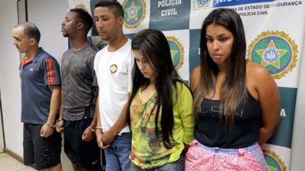 Al駑 de mulher e amante, presas juntas, traficante  tinha mais duas namoradas