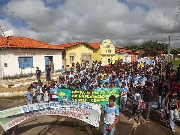 Caminhada e Gincana contra o Abuso e Exploração Sexual contra Crianças a Adolescentes movimentam Caxingó - Imagem 6