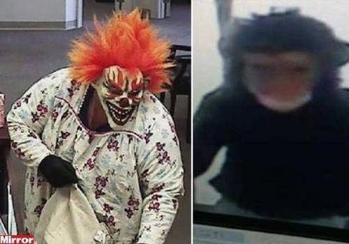 Polícia procura palhaço e macaco que assaltaram banco nos EUA