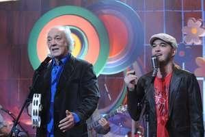 Após a morte do filho, Erasmo Carlos lança CD em programa na Globo