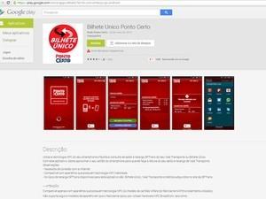 Empresa lança app para recarga e checagem de saldo do Bilhete Único