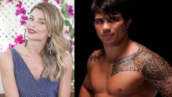 Lutador de MMA posta frase com corações e reforça rumores de affair com Grazi