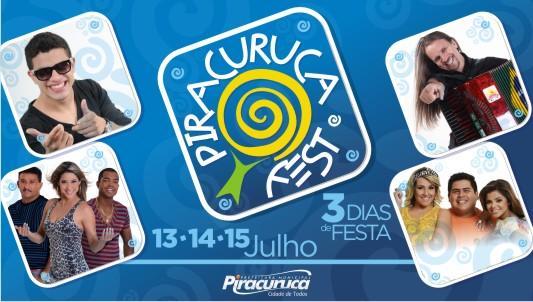Divulgada as atrações que animarão o Piracuruca Fest
