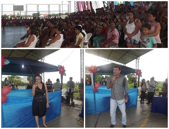 FOTOS: Prefeitura de Caxingó realiza festa para mais de 500 mães  - Imagem 2