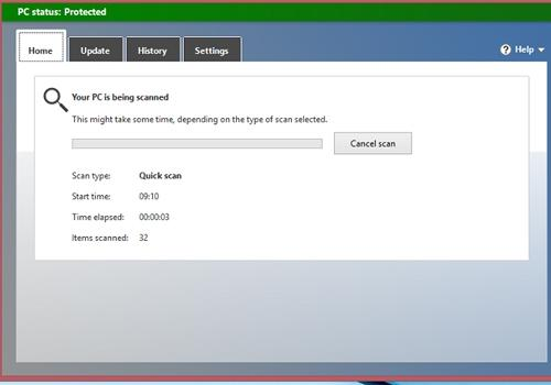 Como checar se computador está infectado por vírus com Windows Defender