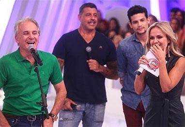 Eliana recebe Alexandre Frota e Otávio Mesquita em seu programa