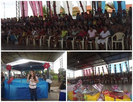 FOTOS: Prefeitura de Caxingó realiza festa para mais de 500 mães  - Imagem 1