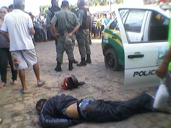 Polícia já tem os nomes dos acusados de assalto que foram mortos na agências dos Correios em Anísio de Abreu - Imagem 8